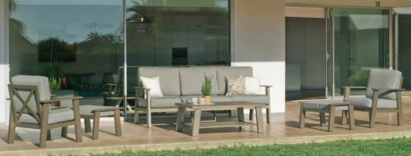 Eliat Garden Sofa Set
