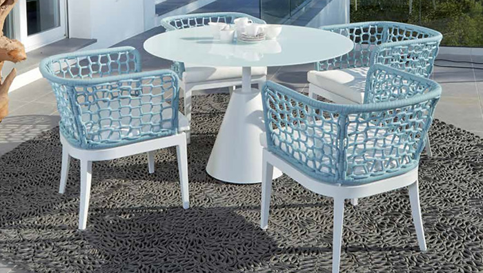 Bloom Garden Dining Table and Chairs