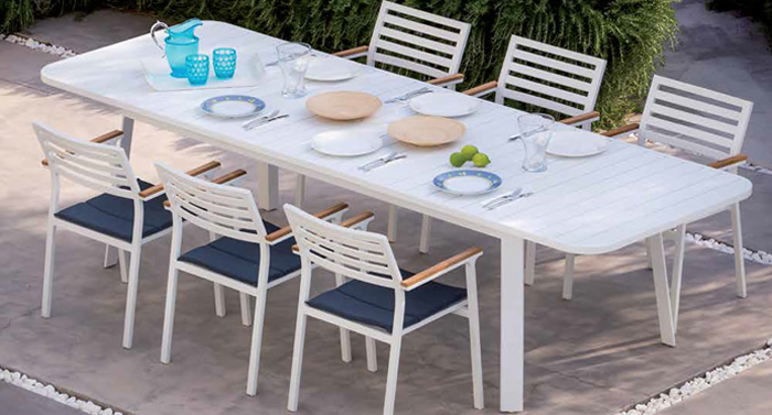 Klara Garden Dining Table and Chairs