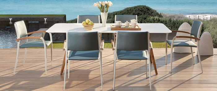Rinjani Garden Dining Table and Chairs