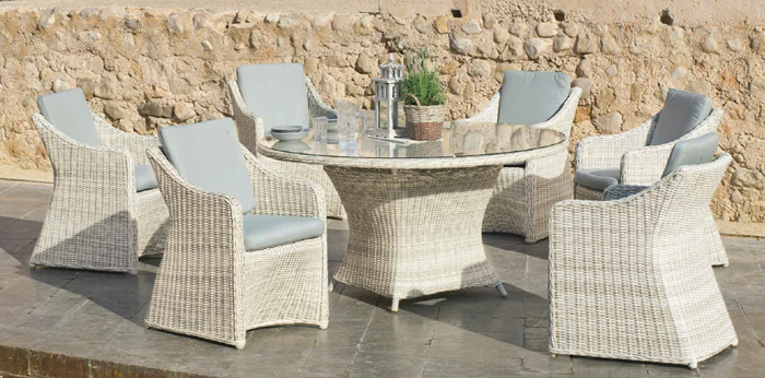 Celebes Garden Dining Table and Chairs