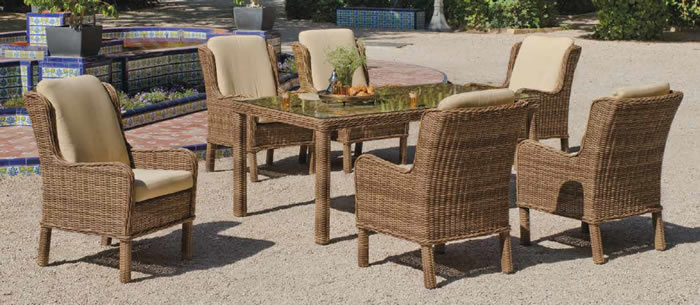 Etna Garden Dining Table and Chairs
