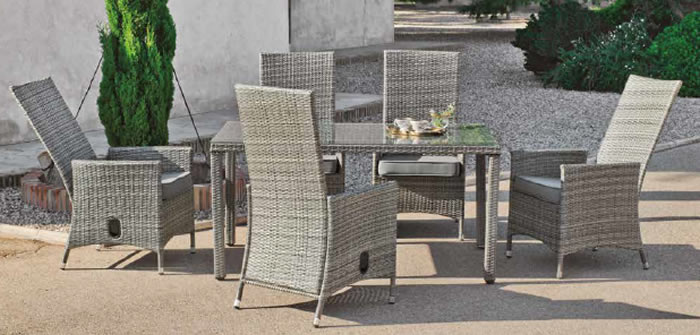 Babilon Garden Dining Table and Chairs