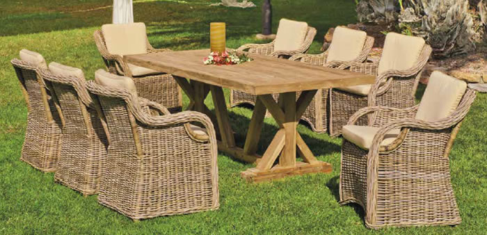 Richmond Garden Dining Table and Chairs