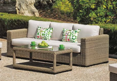 Panter Rattan Garden Sofa Set