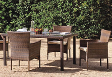 Luxton - Garden Table and Chairs