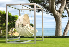 Armadillo Hanging Chair with frame
