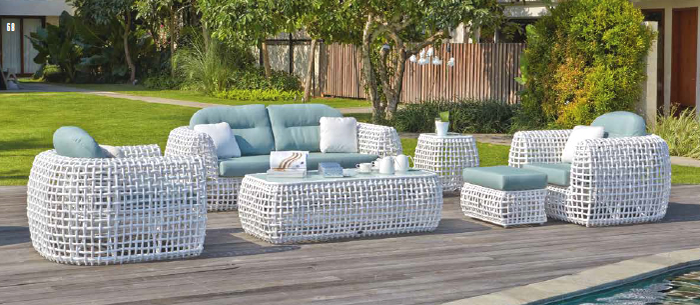 Skyline Dynasty Luxury Garden Sofa Set