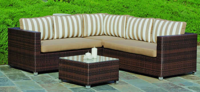 Ainara Rattan Sofa Set