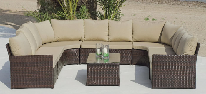 Algarve Rattan Sofa Set